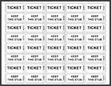 free printable raffle tickets use for general conference
