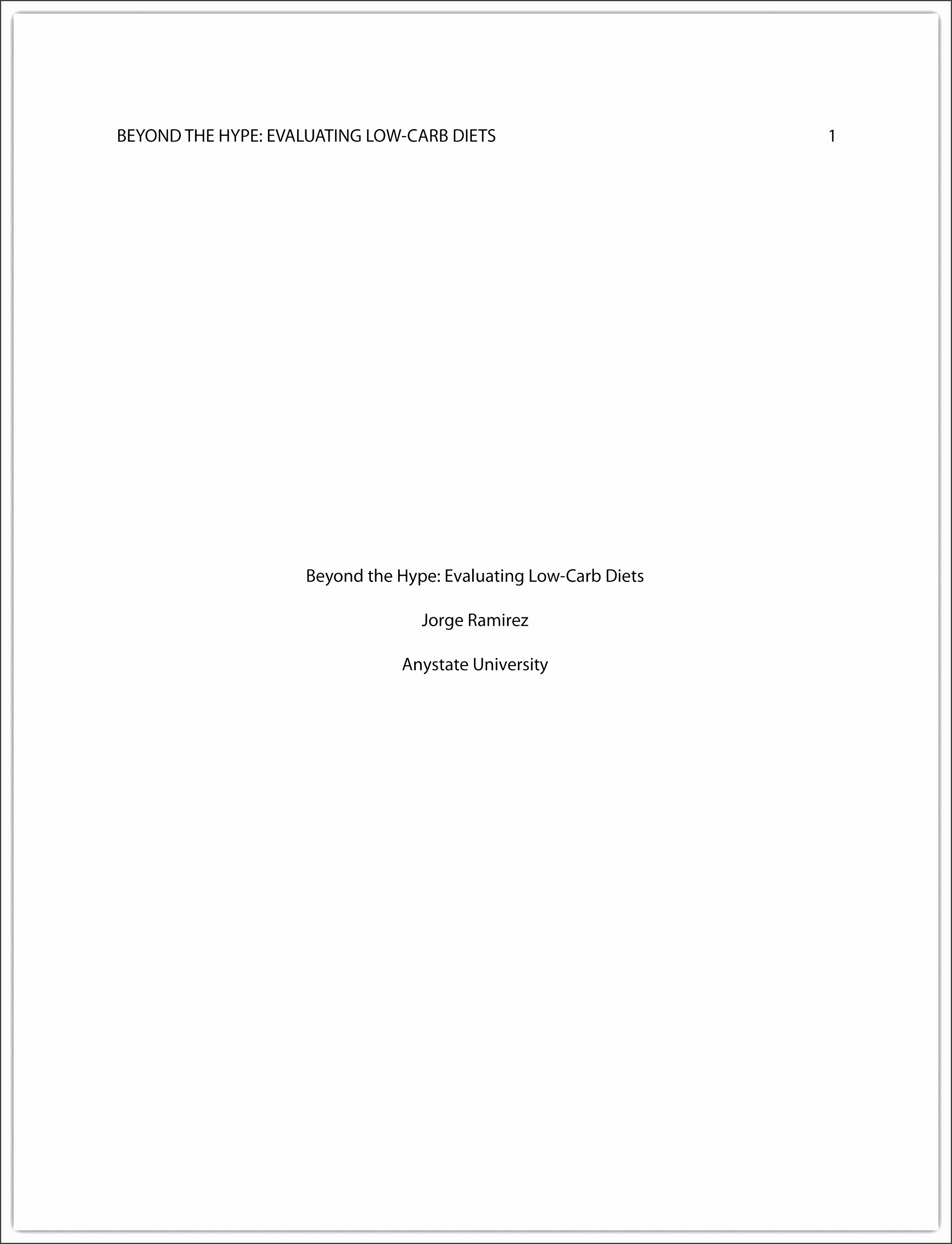 Custom homework research paper