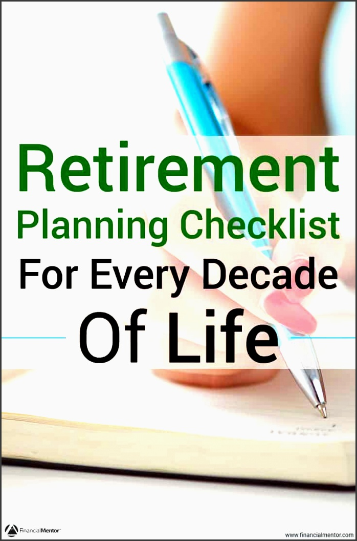 a retirement planning checklist for every stage of life simplifies all financial planning strategies to