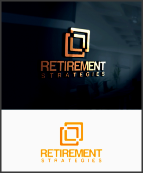 logo design design submitted to financial planning business specializing in retirees