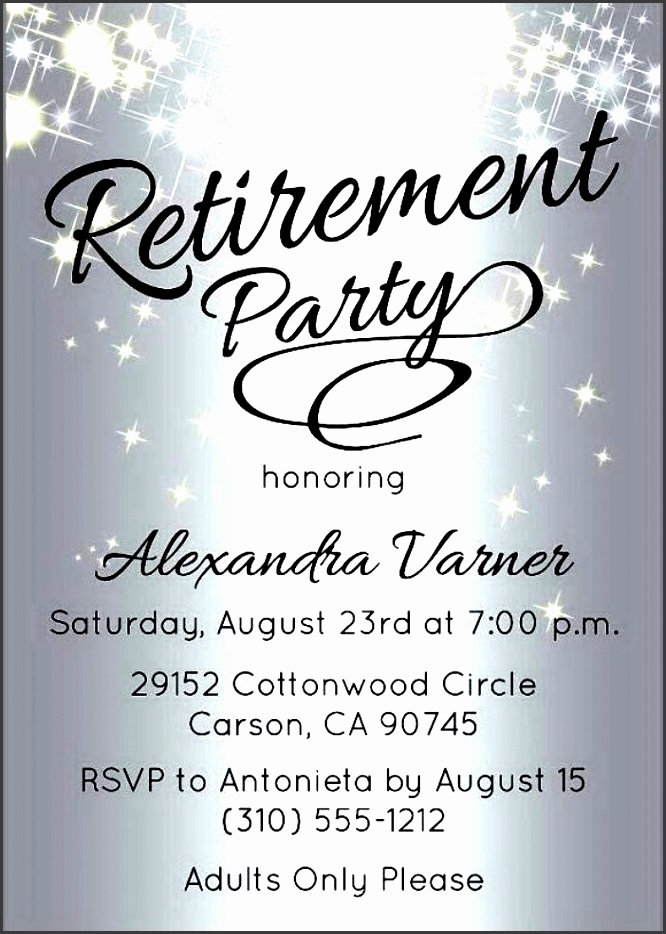 retirement party invitation template to make beautiful party invitation design