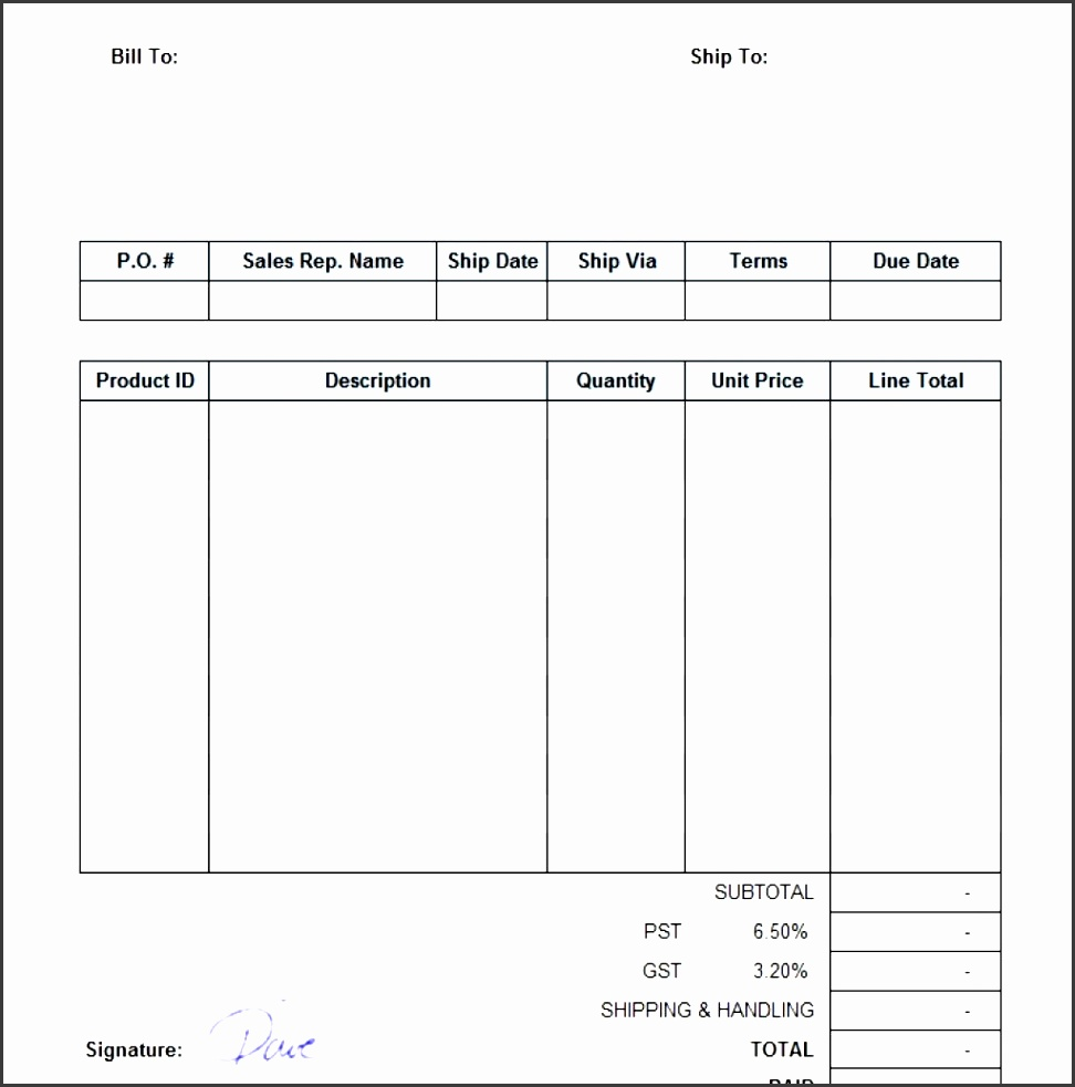 sample sales invoice template 2 intended for sales invoice template