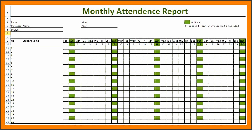 attendance sheet formattendance sheet for employees1