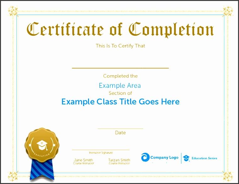 workshop certificate template sample pletion certificate templates creative template free