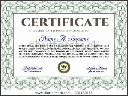 sample certificate or diploma diploma of pletion easy to print elegant design