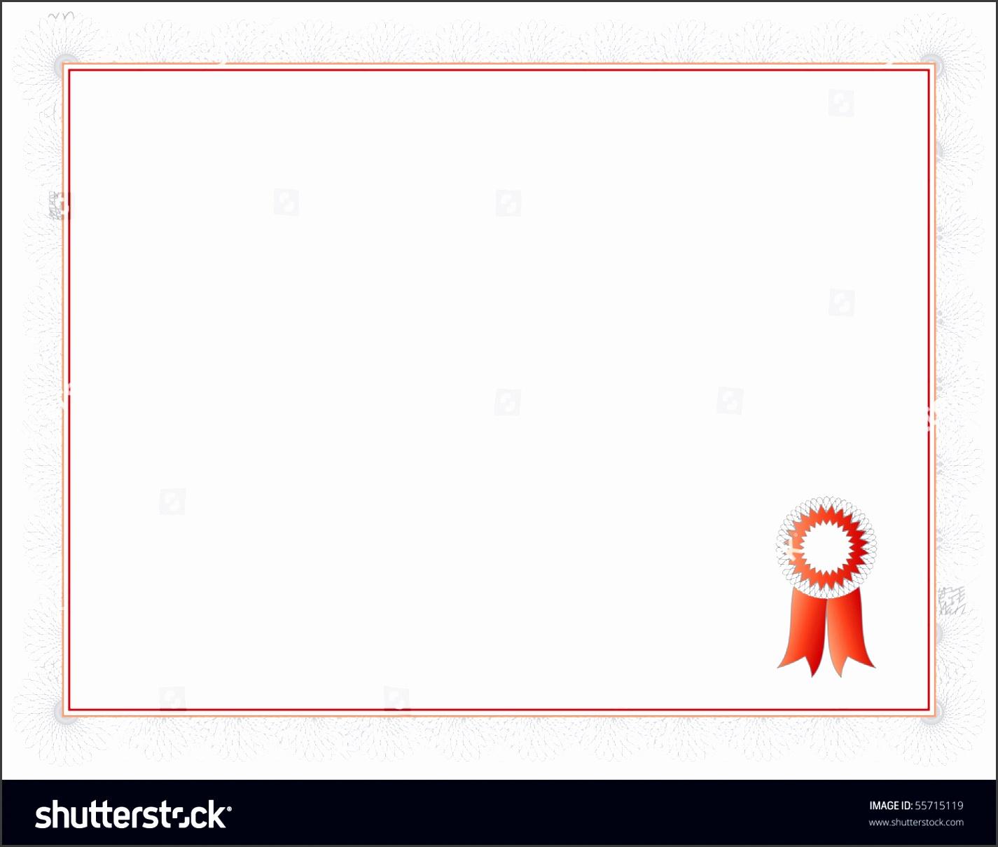 sample certificate of pletion template stock photo certificate of pletion template a vector with sample