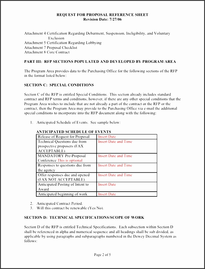 sample rfp reference sheet and scope of work template 2 728 cb