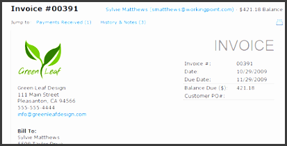 make a invoice online