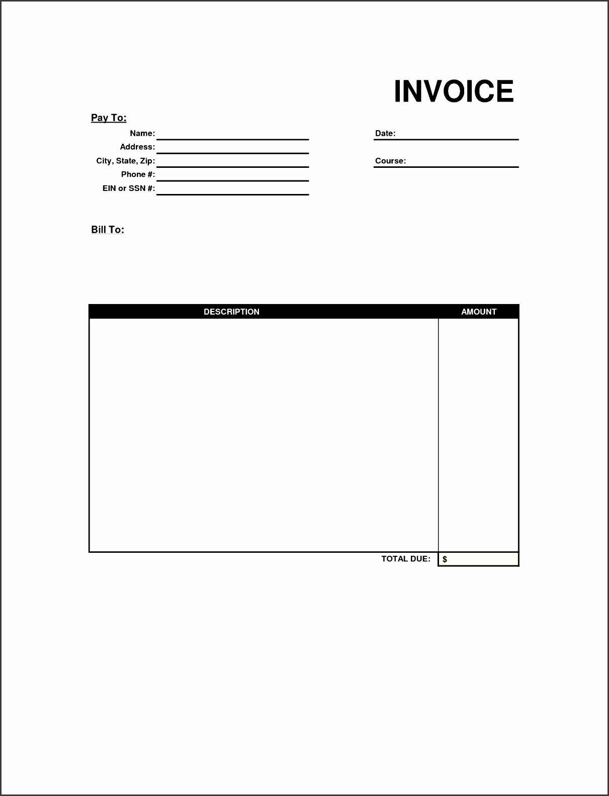 service invoice form expin zigy co