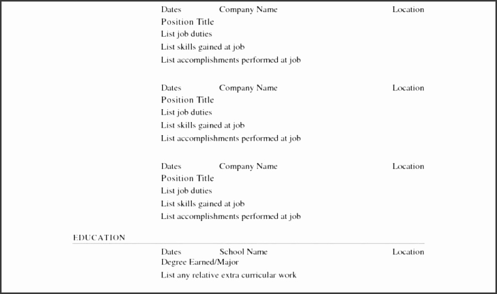 simple expense report template and examples of resumes 7 example a
