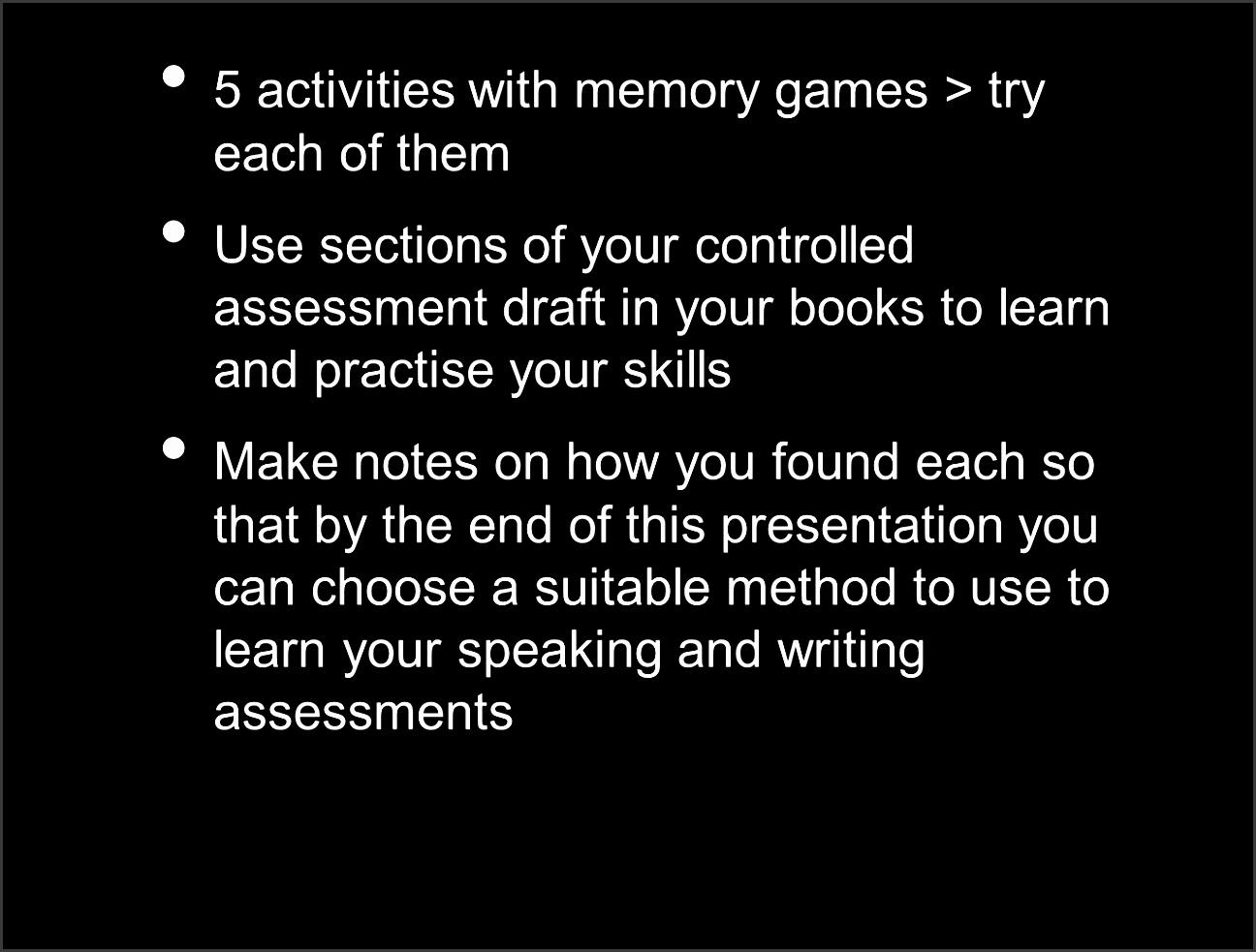 3 5 activities