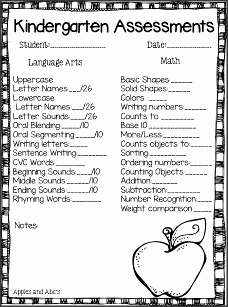 kaylee each grade s assessment report card would have different benchmarks but here is a