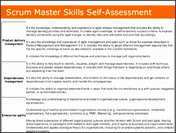 5 scrum master skills self assessment
