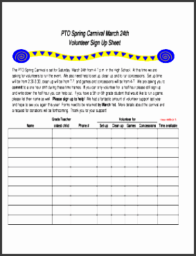 sport sign up sheet forms and templates fillable printable