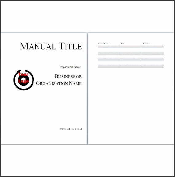 6 User Manual Template: 6 Staff Training Guide Template