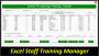 11 Staff Training Plan Editable
