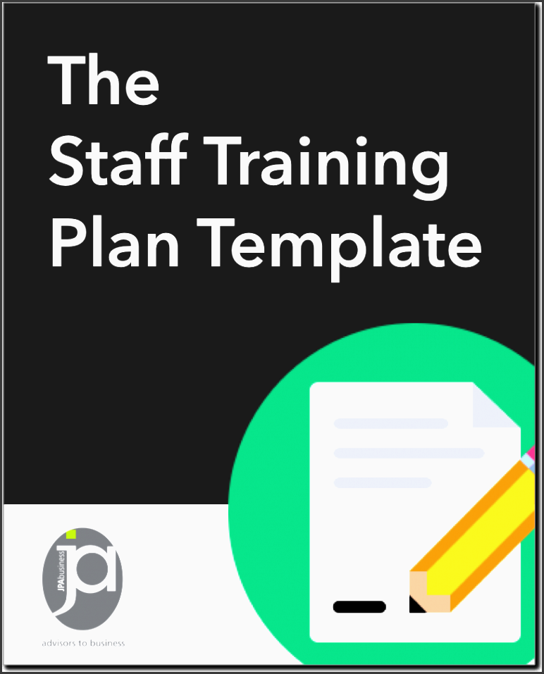 ensure staff training needs are documented and met