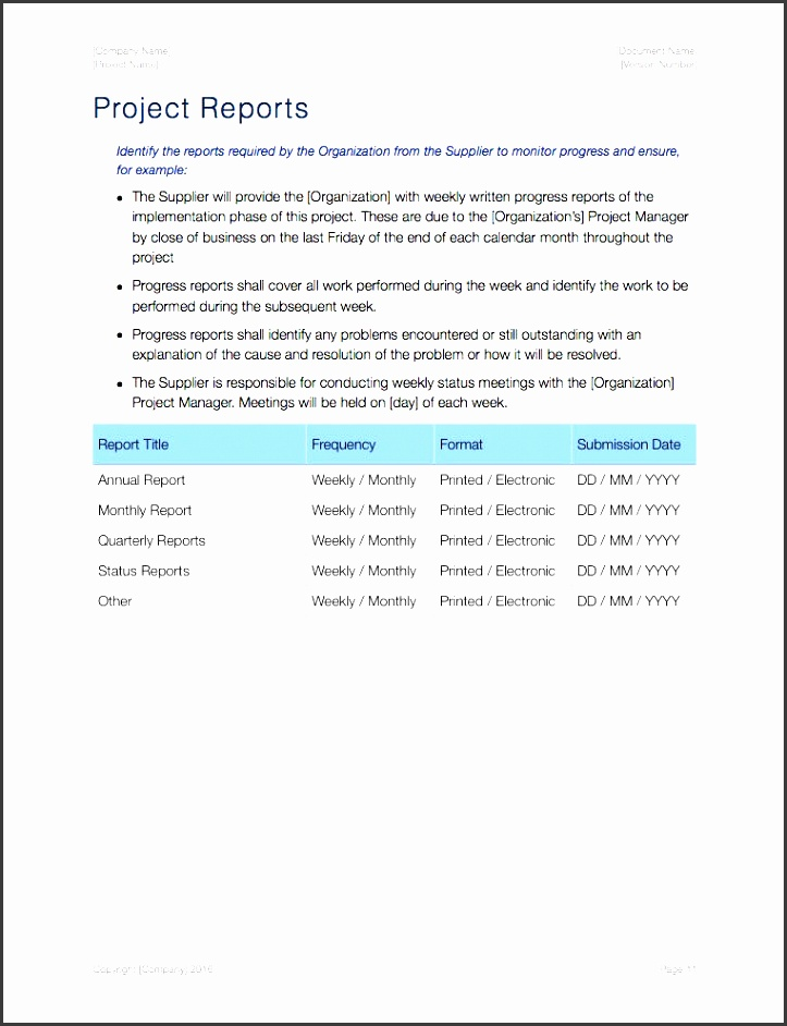 statement of work templates apple iwork reports