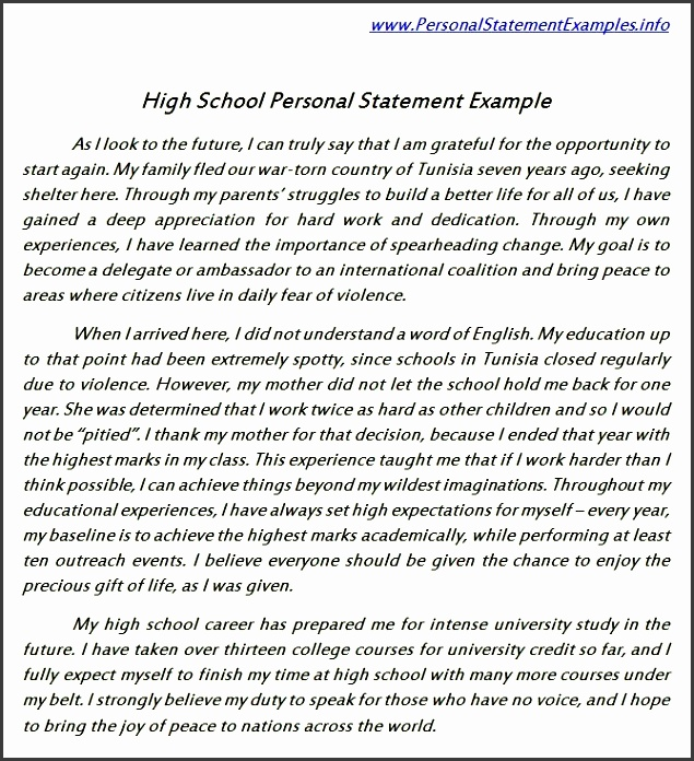 25 best personal statement sample images on pinterest personal