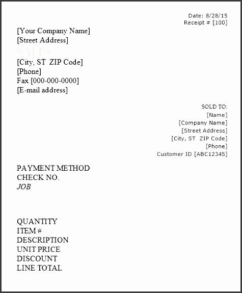 printable sales receipt template word 02