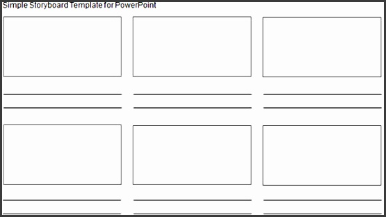 6 storyboard template in word - sampletemplatess