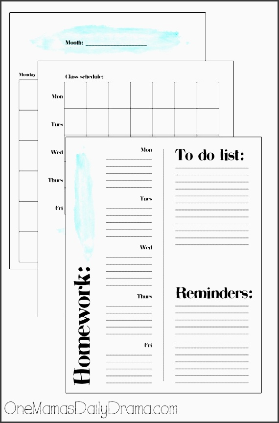 10 ways to help your teen organized for school student planner tween and planners