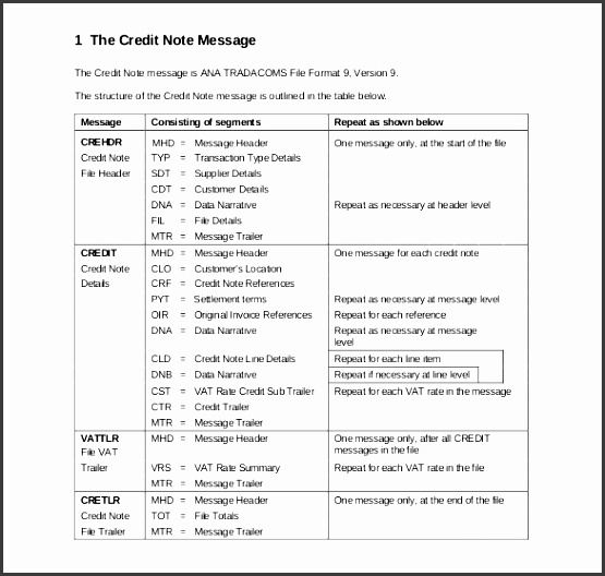 pdf format free credit note template