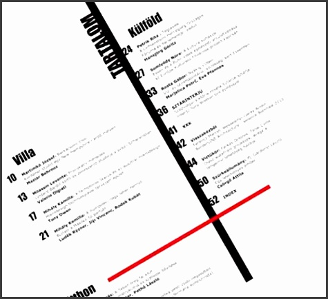 30 excellent table of contents design examples