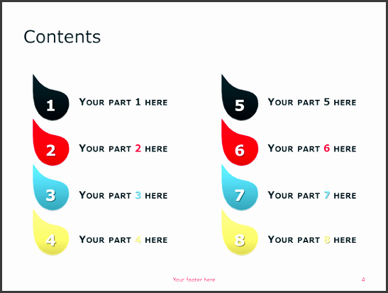 table of contents powerpoint template table of contents powerpoint template casseh free