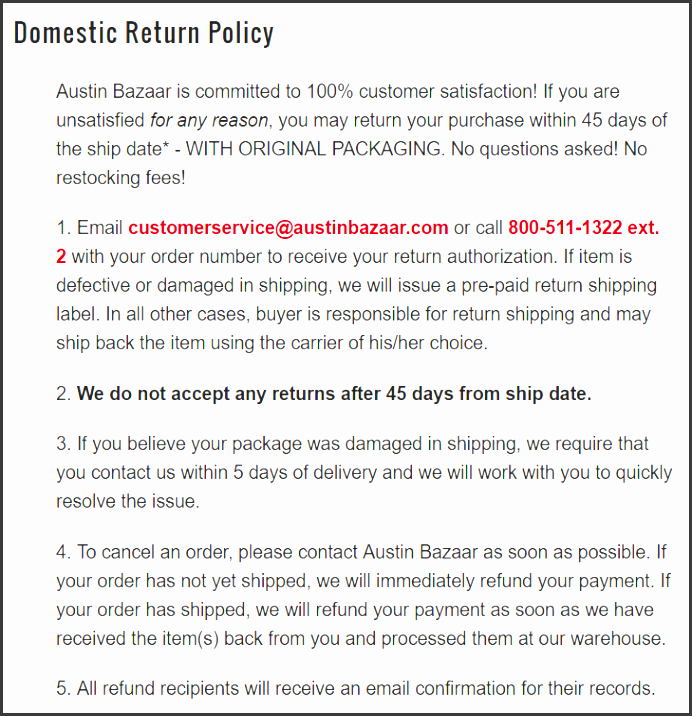 shipping and return policy template - 9 table of contents template free of cost
