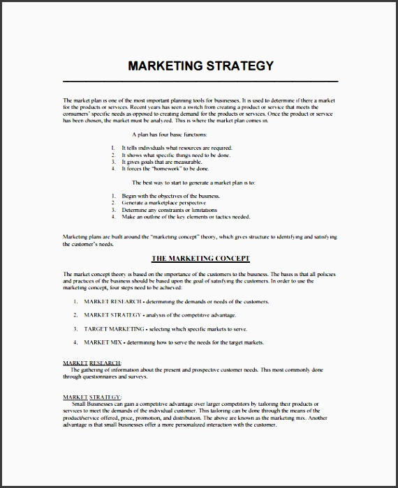 10 Tactical Marketing Plan For Business