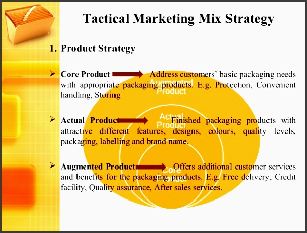 tactical marketing mix strategy