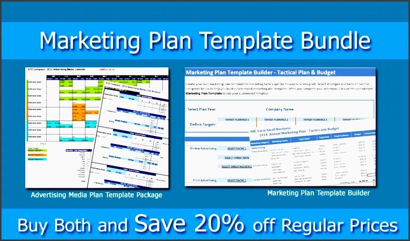 marketing plan bundle marketing template builder and advertising media plan small business marketing tools