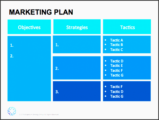 easy to use marketing strategy template