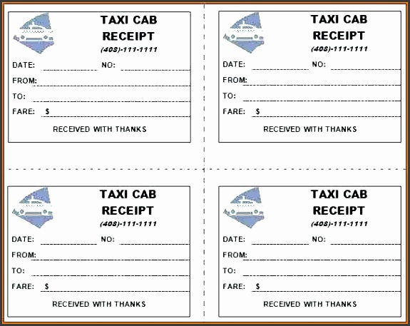taxi invoice format india taxi receipt templates to sample taxi bill format india