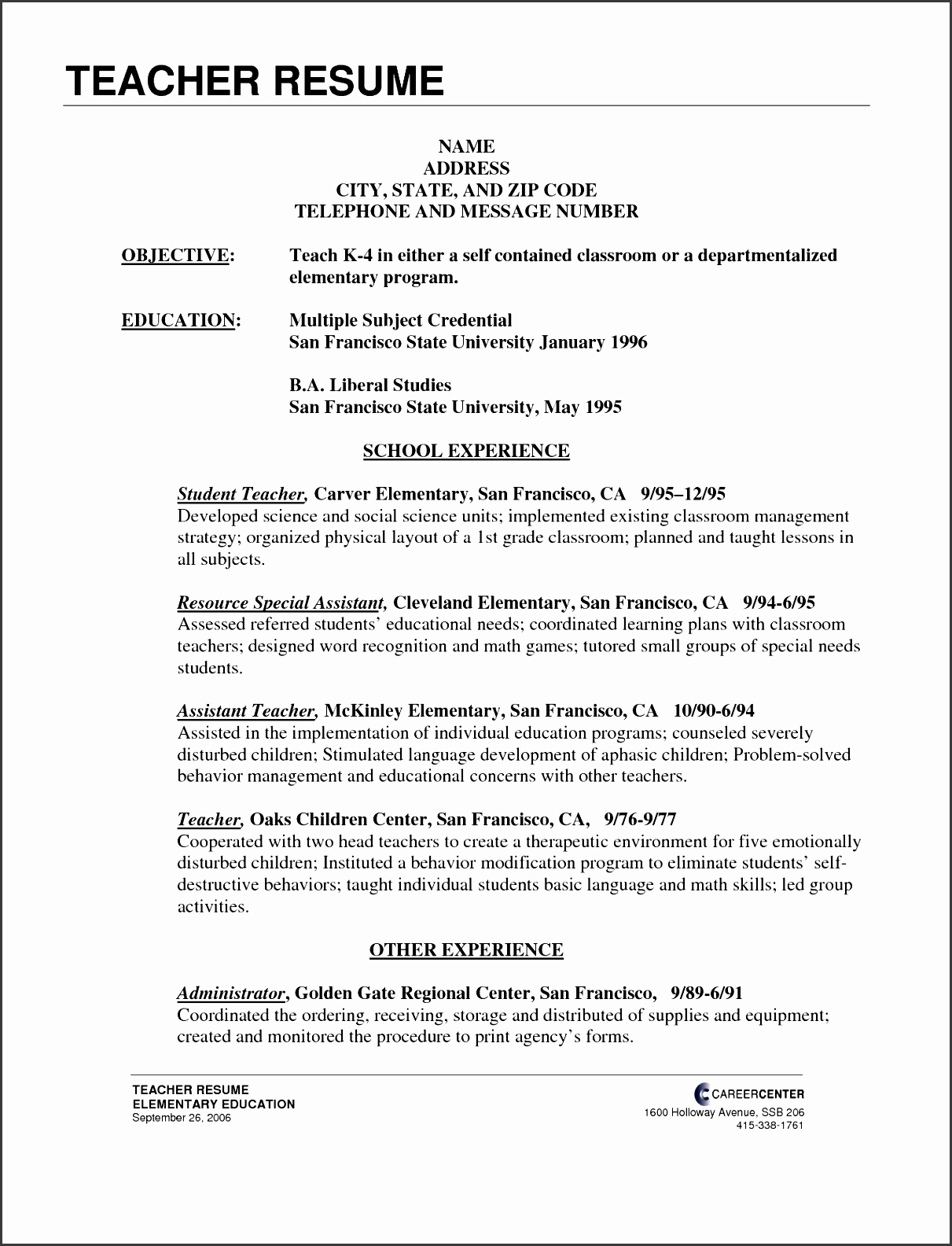 cover letter for teaching job with no experience letter idea 2018
