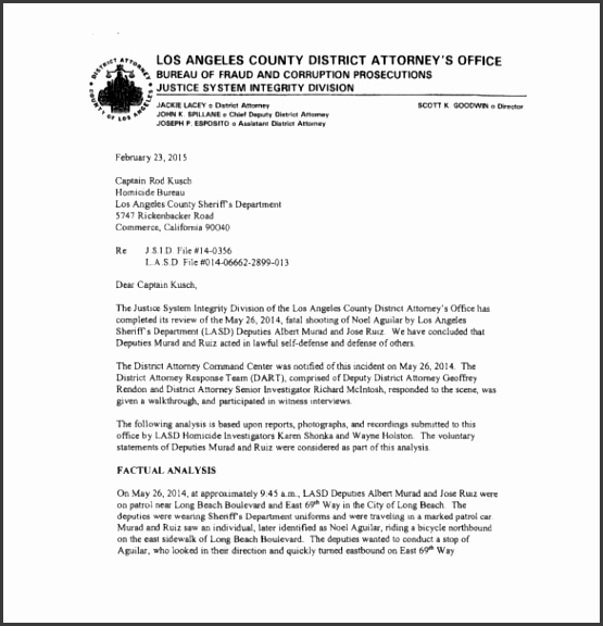 police report examples