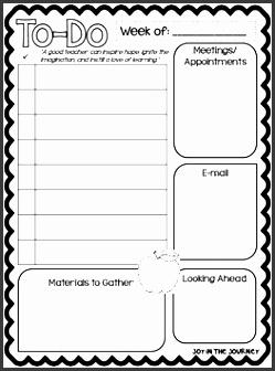 to do list template for teachers