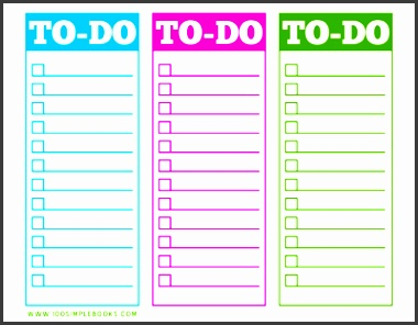 blank to do list template to do list template