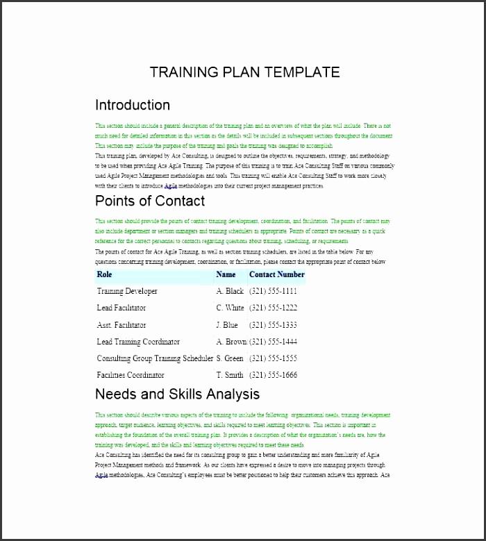 printable training manual template 32