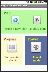 easy travel planner free screenshot thumbnail