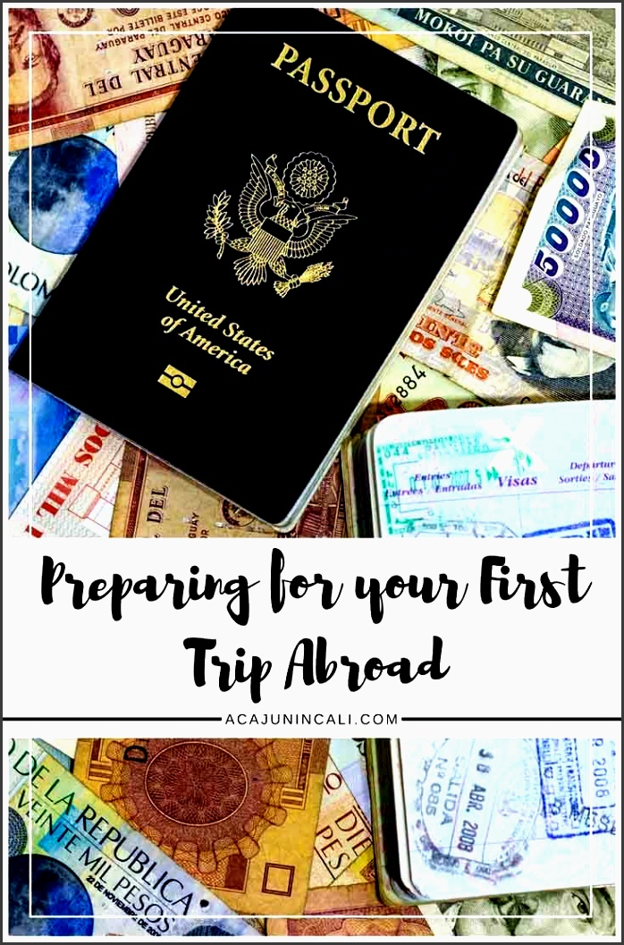 what to do before going abroad for the first time