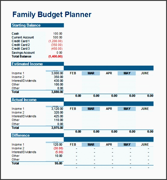 excel bud template 25 free excel documents free