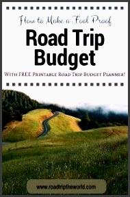 free road trip bud planner