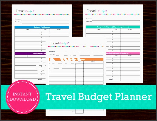 travel bud sheet travel planner vacation by roadtripblogger
