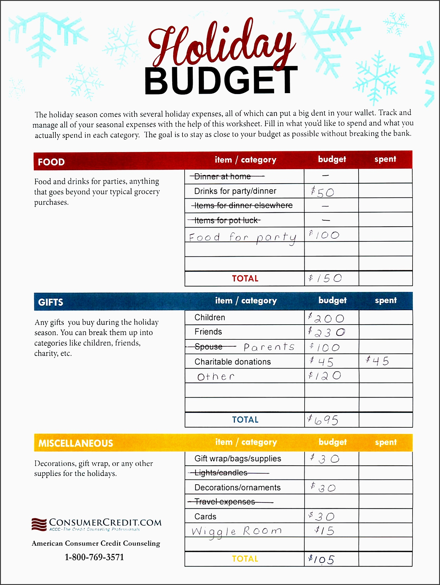 9 vacation cost planner template sampletemplatess for Net price calculator template