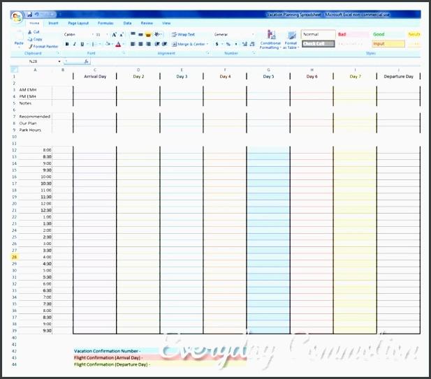 free vacation planning spreadsheet to my disney madness inside disneyland trip planner