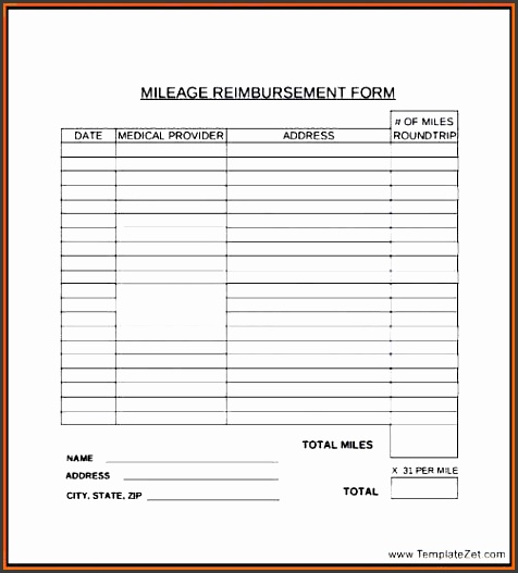 reimbursement form holder sample employee ripping mileage resume employee mileage reimbursement form excel
