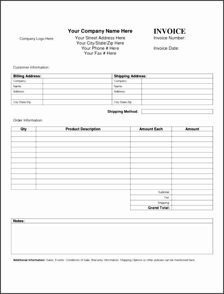 vendor invoice template and customs invoice format rabitah