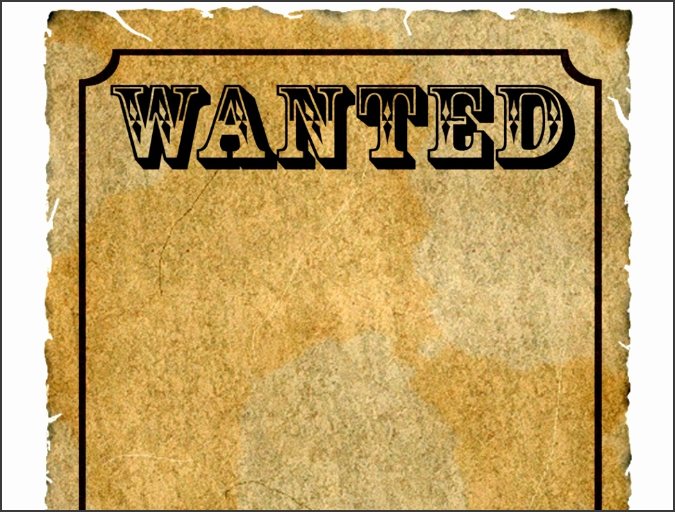 doc free wanted poster template 19 free wanted poster